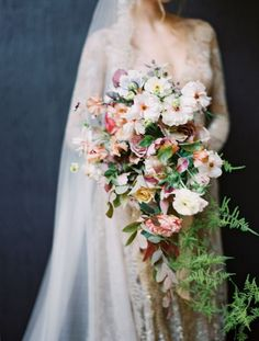 If Monet Were to Paint a Wedding, It Would Look Like This. – Style Me Pretty