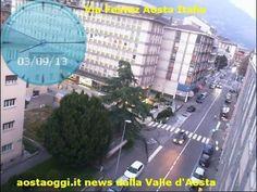 Aosta Valle d'Aosta Turismo webcam web cam livecam live cam Via Festaz A...
