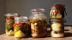 Grønsager i olivenolie