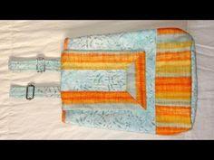 Mochila em tecidos Arco Íris - Maria Adna Ateliê - Bolsa/Mochila - Aula de bolsa/mochila em tecidos - YouTube