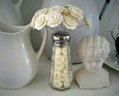 Button bouquet share from Facebook...