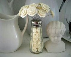 Button bouquet share from Facebook...