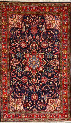 Buy Hamadan Persian Rug x Authentic Hamadan Handmade Rug Persian Rug, Handmade Rugs, Carpets, Bohemian Rug, Old Things, Herb Lubalin, Oriental Rugs, Carpet Ideas, Graphic Design