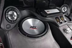 """Thunder8500 15"""" subwoofers with TA series amplifiers and TX series speakers. #mtxaudio"""