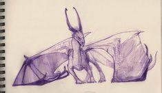 Violet ballpoint pen by grzanka.deviantart.com on @DeviantArt