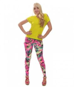 Camboriu Reef Colors leggings