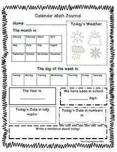 Image result for calendar math reusable worksheet