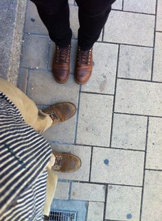 """Red Wing Iron Ranger """"8113"""" (4,5 years) & """"8111"""" (4 months)..."""