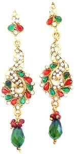 Stunning Bollywood Leela Earrings