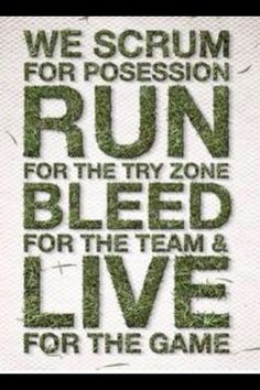 Rugby quote