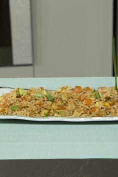 Cómo hacer arroz oriental (estilo Yakimeshi)