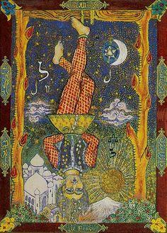 12 - XII - Appeso - Hanged Man - Pendu - odino o traditore o sacrificio o colgado - tarocchi - kazanlar tarot Hanged Man Tarot, The Hanged Man, Le Tarot, Divination Cards, Online Tarot, Tarot Major Arcana, Tarot Card Decks, Oracle Cards, Archetypes