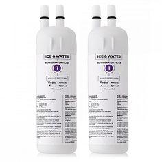 Original Whirlpool Water Filter Cartridge for Kenmore 51164/ 51169/ 51172 Refrigerator Models (2 Pk)