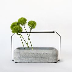 Thinkk Studio. 4 most favorite projects., concrete, wood, contrast, minimalist, simple, weight vases