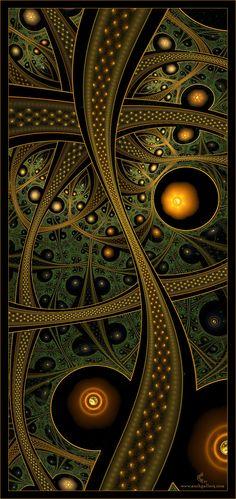 Cory Ench fractal: design and color inspiration Design Fractal, Fractal Art, Kaleidoscope Art, Motif Art Deco, Art Japonais, Optical Illusions, Sacred Geometry, Textures Patterns, Amazing Art