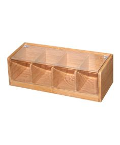 #papercraft #crafting supply #organization: this Bamboo Tea Box could be a great organizational item for #projectlife projects
