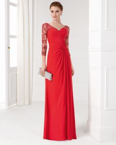 Home - Aire Barcelona - Stunning bridal gowns and cocktail dresses. Sara  Garip · red formal dresses 38b1cefcbf8c