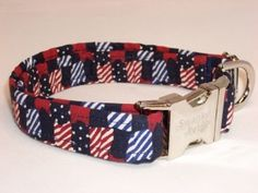 American Quilt Patriotic Collar by Swanky Pet