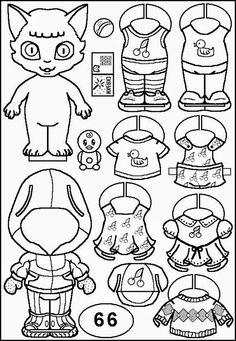 Cute paper dolls coloring. Милые бумажные куклы - раскраски. - Maryetta Ru - Picasa Webalbum