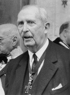 HRH Philipp Albrecht, Duke of Württemberg - (created Knight of Honor October 18, 1956 - died 15 April 1975)