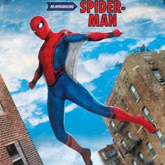 NEW promo art for Spider-Man Homecoming!