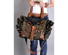 A0048 BUTTERFLY  BOLSO BOHO CHIC