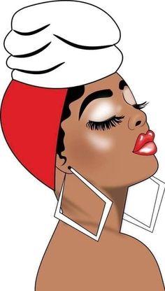 Black Girl Art, Black Girl Magic, Art Girl, Black Girls, African Crafts, African Art, Black Woman Silhouette, Black Art Pictures, Skate Art