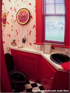 I have the shower curtain, hamper, toothbrush holder, rinse cup ...