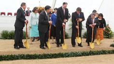 14 setiembre 2011 - Templo mormon en Trujillo - Palada Inicial del Templo de Trujillo - Elder Rafael E. Pino - Temple Groundbreaking of the Trujillo Peru Temple