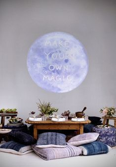 moon dinner party | designlovefest