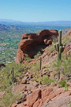 """Climbing Camelback"" (Hiking in Scottsdale, Arizona)"