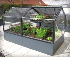 "GrowCamp 4' x 8' x 16"" Modular Greenhouse - GrowTray Included"