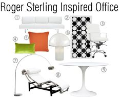 roger sterling office. From Don Draper To Roger Sterling\u2014 Get The Mad Men Look For Your Office Sterling