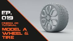 Model a Wheel and Tire in Cinema 4D on Vimeo