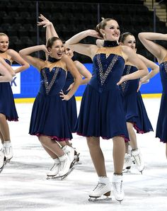 Competition Recap: 2017 Midwest & Pacific Coast Synchronized Skating Championships-Fond Du Lac Blades-Junior Short