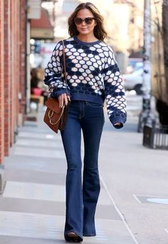 chrissy-teigen-flare-pants