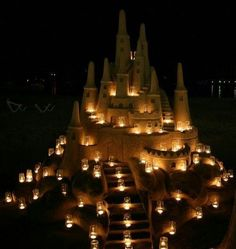 Sand Castle, Mallorca, Spain photo via beautyineverything Ice Art, Snow Sculptures, I Love The Beach, Sand Art, Beach Art, Strand, Sea Shells, Cool Pictures, Sand Pictures
