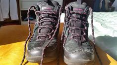 Peter Storm Black with Pink Trim Girl s Hiking Boots UK 13 EUR 32