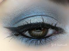 синий, подводка для глаз, глаза, мода, гарри поттер