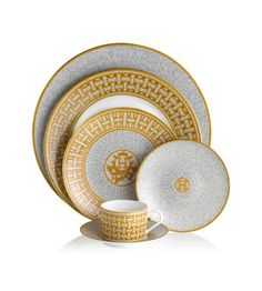 Hermes China - It's the most expensive and it's in gold!