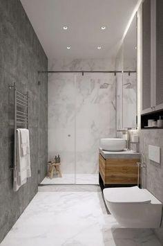 Bathroom decor, Bathroom decoration, Bathroom DIY and Crafts, Bathroom interior decorating Bathroom Design Luxury, Bathroom Layout, Modern Bathroom Design, Bathroom Ideas, Minimal Bathroom, Luxury Bathrooms, Budget Bathroom, Bath Design, Bathroom Designs