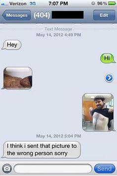 Oops, wrong number...
