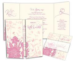Hochzeitskarten+-+Wild+Ornaments+in+Pink