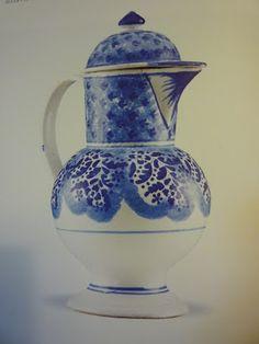 Faiança portuguesa azul e branca