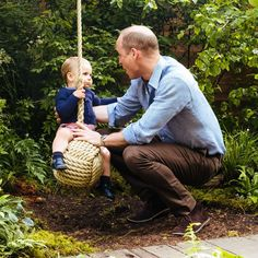 Royal Family Around the World: Prince William, Duke of Cambridge and Catherine, Duchess of Cambridge enjoy fun-filled day out with the children at the Duchess' woodland during the RHS Chelsea Flower Show on May 2019 in London, England.