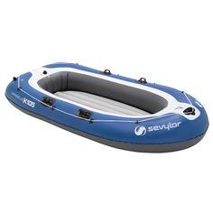 Poze Set barca Carravelle gonflabila KK105 albastru/gri Sevylor