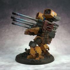 Figurine Warhammer, Warhammer 40k Figures, Warhammer Models, Warhammer 40k Miniatures, Warhammer 40000, Imperial Knight, Imperial Fist, Tau Empire, Far Future