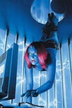 Mystique Cover: Mystique by John Buscema Marvel Comics Poster - 61 x 91 cm Marvel Villains, Marvel Comics Art, Fun Comics, Marvel Characters, Female Characters, Mystique Marvel, X Men, Marvel Girls, Comics Girls