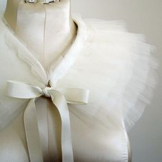 It's a capelet! How cute :)