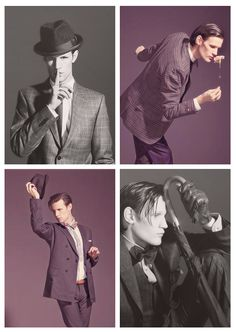 ❦ Matt Smith, the 11th Doctor Who. So goofy looking and so handsome at the same time.